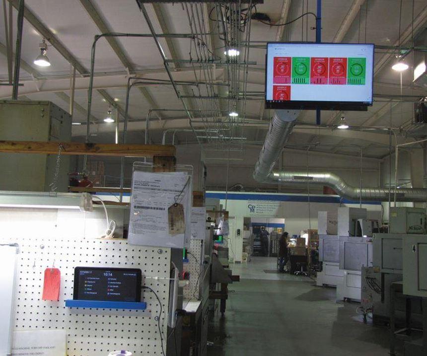 machine monitoring at Carolina Precision Manufacturing