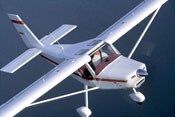 The Pelican Sport 600, featuring a composite fuselage, from Canadian manufacturer Ultravia Aero.