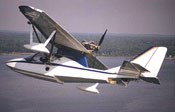 The amphibious SeaRey, from U.S. airframer Progressive Aerodyne (Florida).