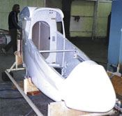 The A-20 composite hull is used for several models, including the Vista series and the Varlet.