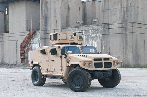 The Chassis  Challenge for the  Humvee Replacement image