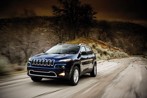 Designing the 2014 Jeep Cherokee image