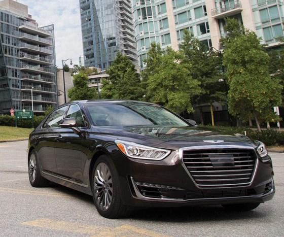 The 2017 Genesis G90: A Substantial Sedan : Automotive