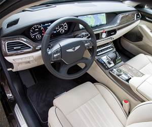 The 2017 Genesis G90 is an all-new platform. The vehicle is designed and engineered to compete with sedans including the Mercedes S-Class and the Lexus LS460—and to put the Genesis brand on the map in the luxury vehicle category.