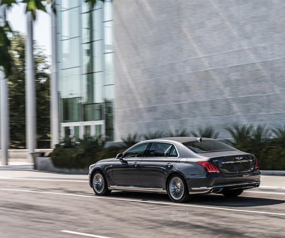 The G90 has a coefficient of drag of 0.27.