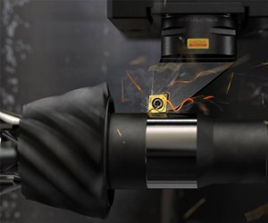 Hard turning in place of grinding for hardened steel parts can offer great gains in throughput while maintaining required surface finish and dimensional requirements.