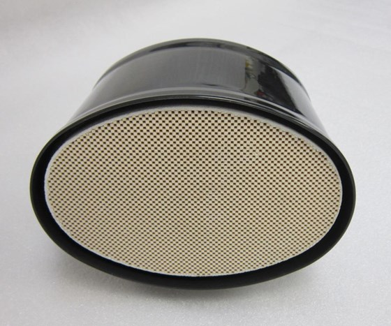 This gasoline particulate filter was developed particularly for gasoline direct-injection engine applications.