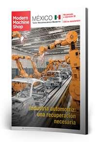 Octubre Modern Machine Shop México número de revista