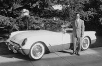Brandt Goldsworthy was involved in the design and engineering of the 1953 Chevrolet Corvette's composite body panels.