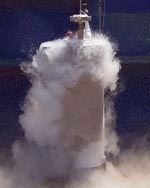 A cryogenic test in progress