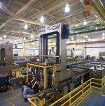 cadmium/titanium plating line