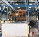 Zinc barrel plating line