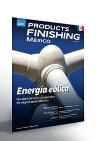 Octubre Products Finishing México número de revista