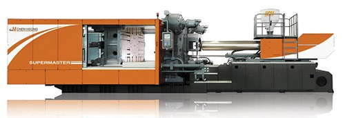 Chen Hsong Supermaster injection molding machine, available from Gluco Inc.