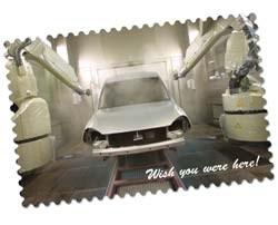 Opel's Azambuja plant waterborne paint shop
