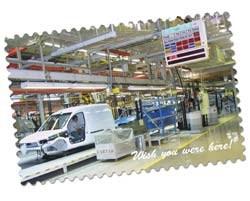The assembly line at the Azambuja plant