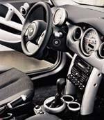 Mini Cooper molded interior