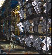 new rack plating line