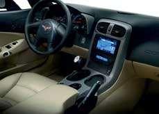 The C6 interior