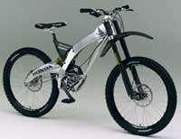 Honda's RN01 mountain bike