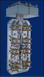 Control gate unitized system
