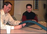 Roger Kunkel and Calvin Nelson