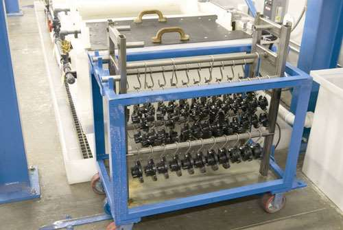 steel carts for finished parts