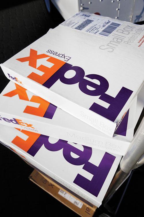 FedEx package