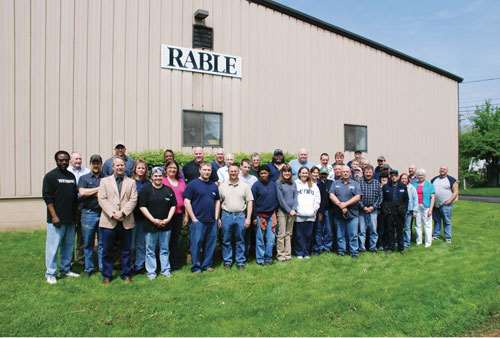 Rable Machine Inc. staff