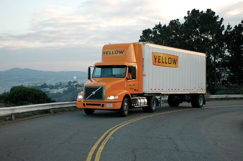 Yellow Freight truck