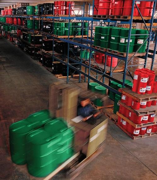 Lubricant Storage