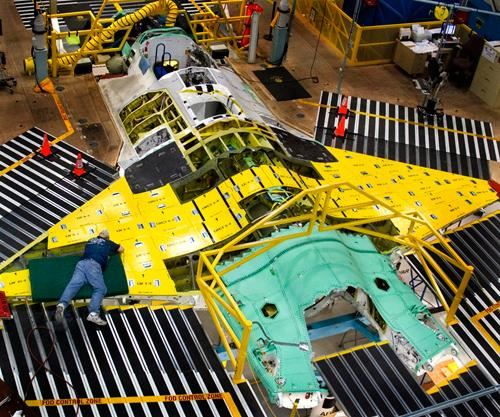 Opener - F-35 on assembly line
