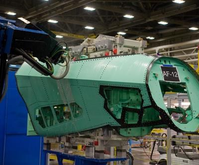 F-35 forward fuselage