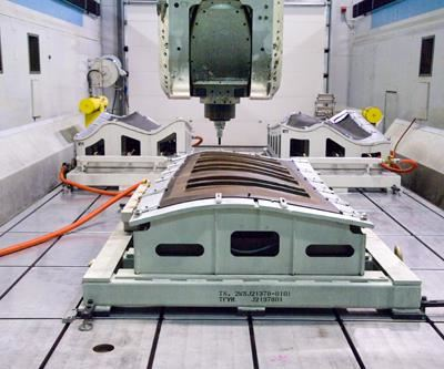 DST machining center