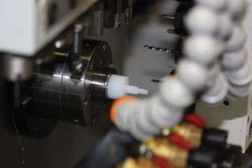 valve plug in machine