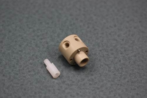 plastic valve plug and valve body