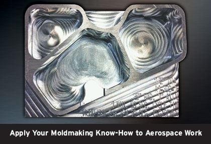 deep machined aluminum part
