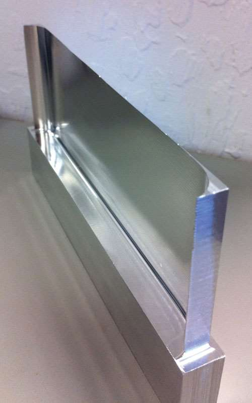 thin wall aluminum part