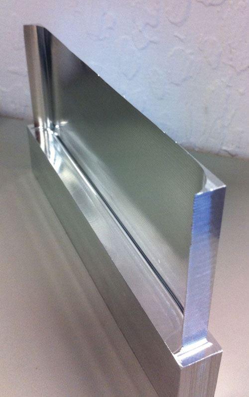 thin wall aluminum part