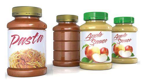Amcor hot-fill PET jars