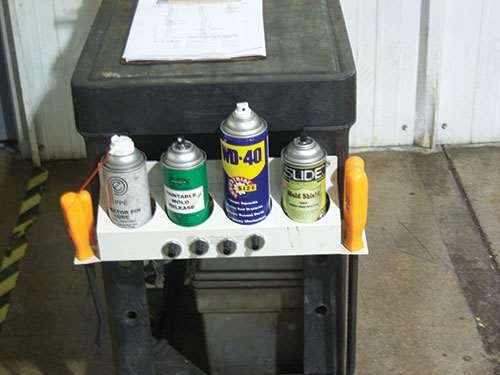 aerosols for the press