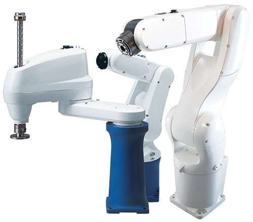 compact robot design