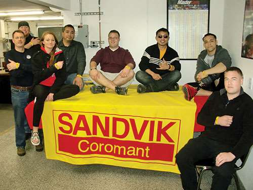 Sandvik Workshop for Warriors