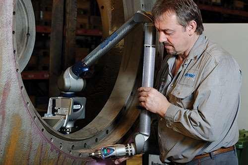 portable measurement arm
