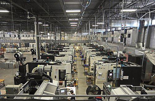 Pointe Precision's production line
