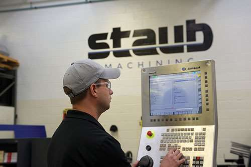 Mike Rozycki of Staub Machine