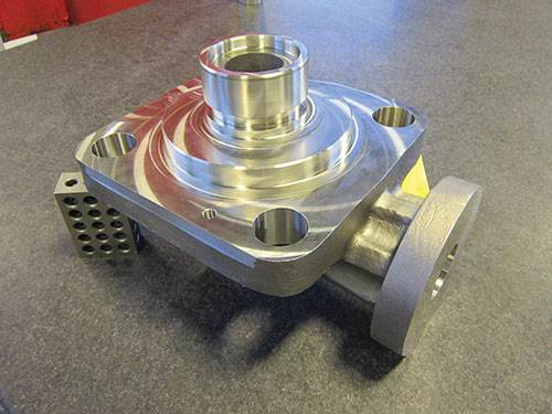 part machined in one setup