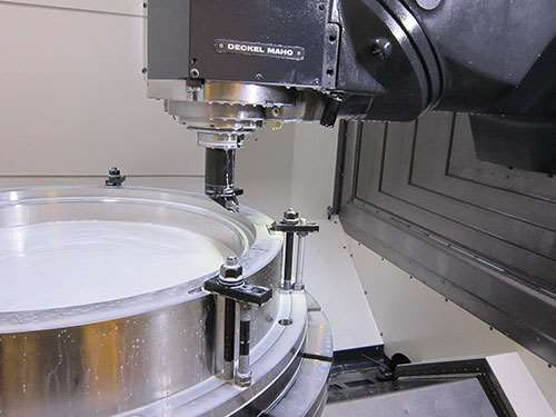 DMG MORI DMC 125FD universal machine