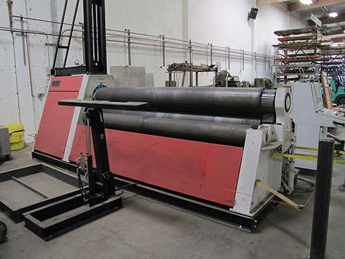 pinch-rolling machine