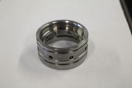 part machined in separate setups
